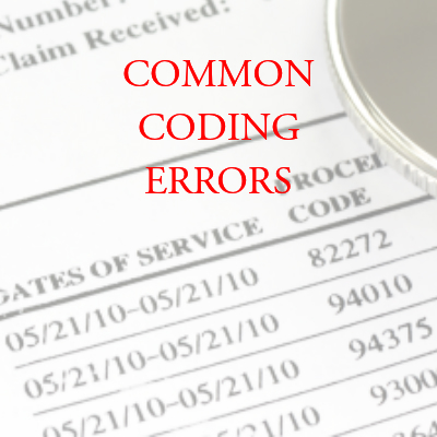 Common Coding Errors