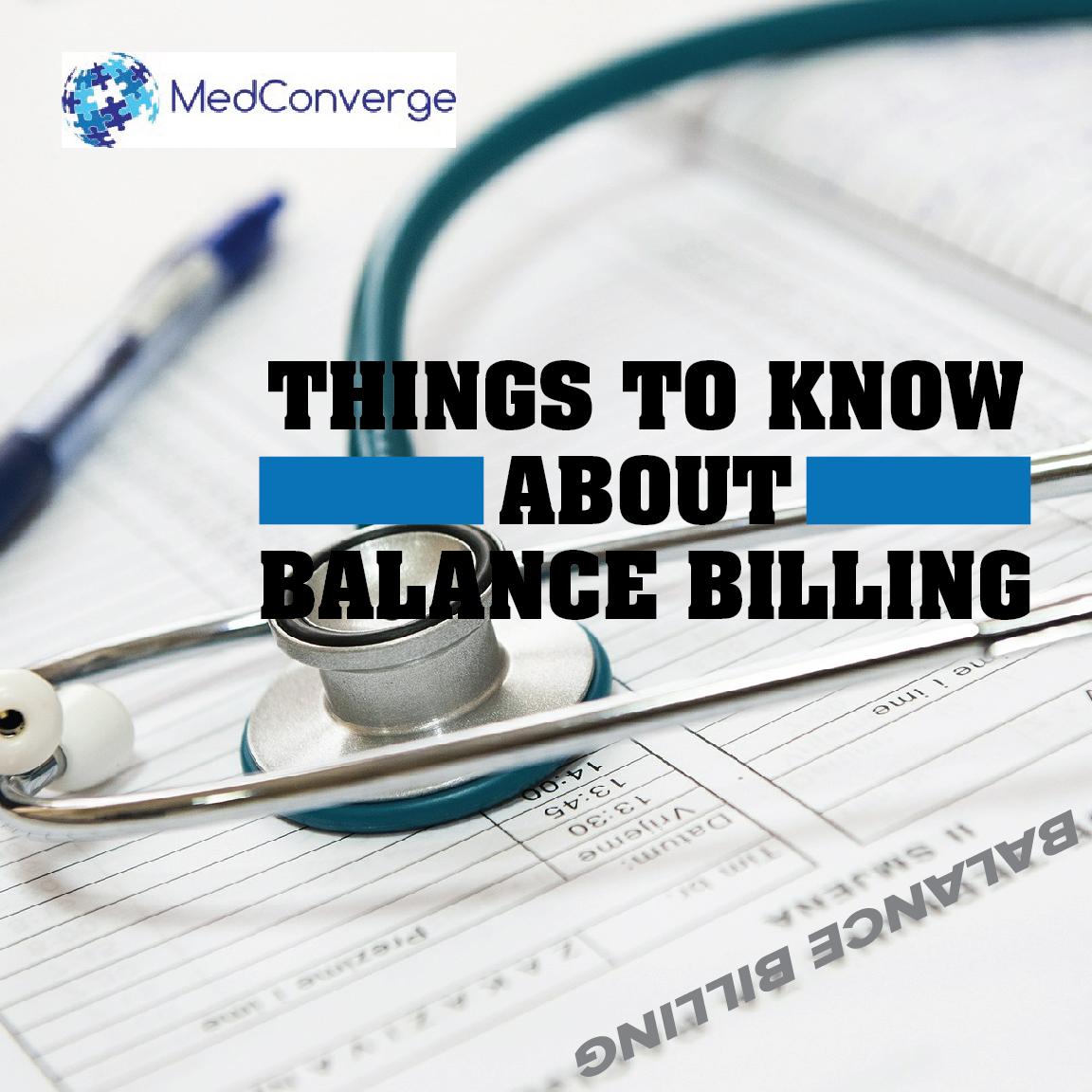 MedConverge Balance Billing