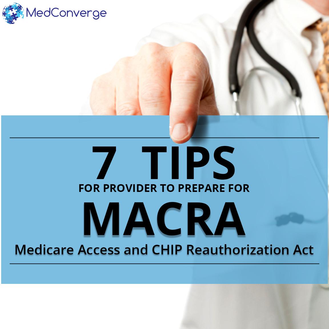 Prep Tips for MACRA
