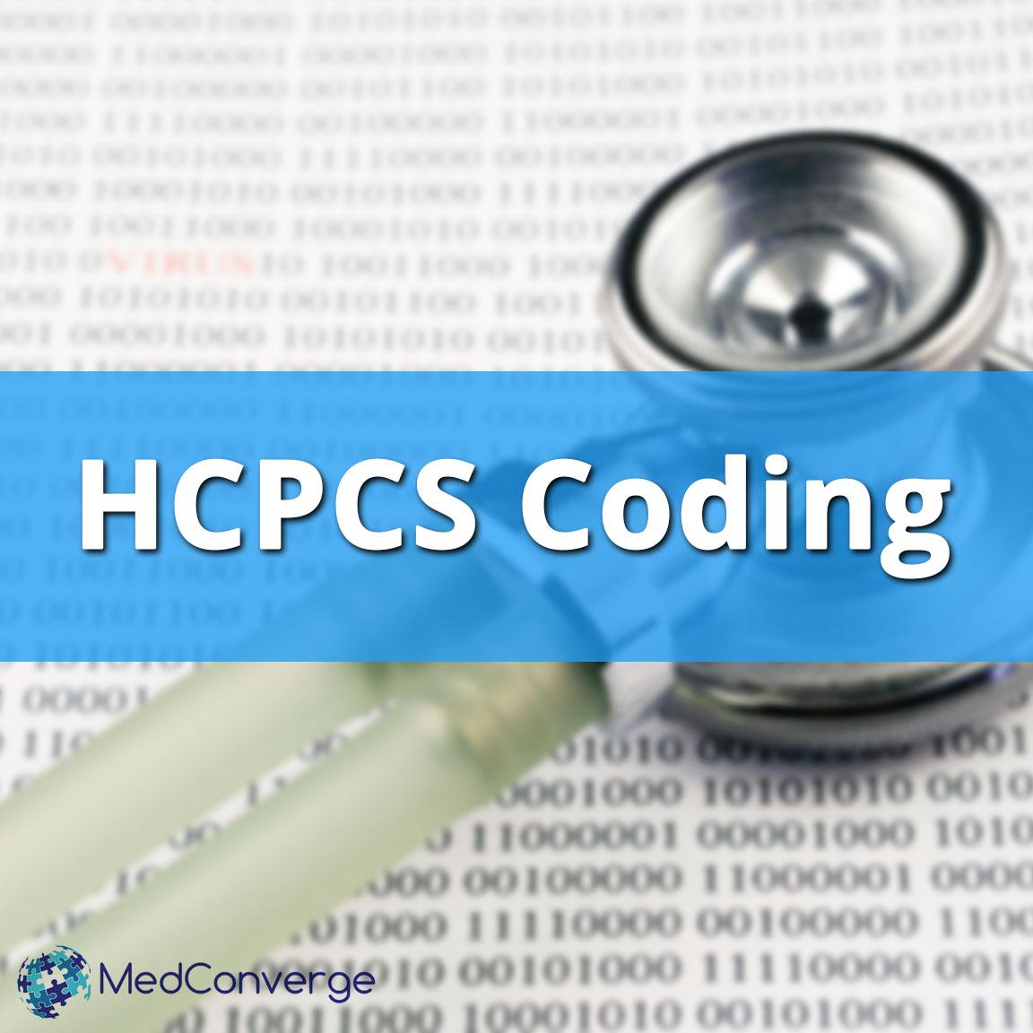 HCPCS coding